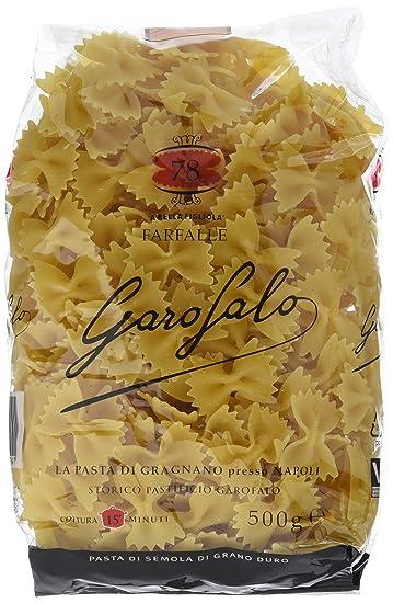 Garofalo Rigatoni pasta n.35 - 500g, paquete de 4