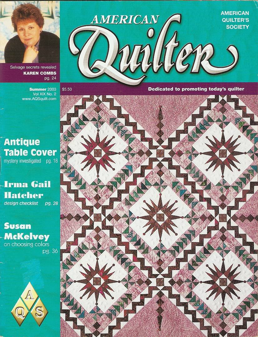 Read Online American Quilter Magazine Single Issue Summer 2003 pdf