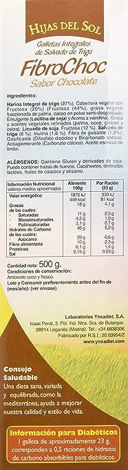 Hijas Del Sol Galletas de Salvado de Trigo con Cobertura Vegetal ...