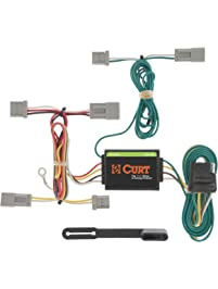 CURT Manufacturing 56011 Vehicle-Side Custom 4-Pin Trailer Wiring Harness for Select Honda Accord, Civic, Fit, Mazda 3...