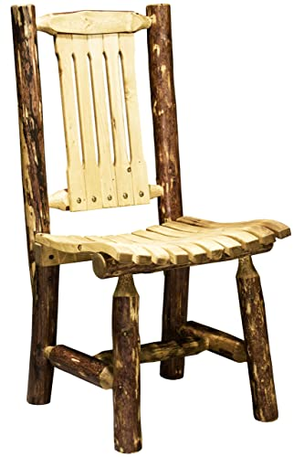 Montana Woodworks Glacier Country Outdoor Patio Chair, Exterior Finish
