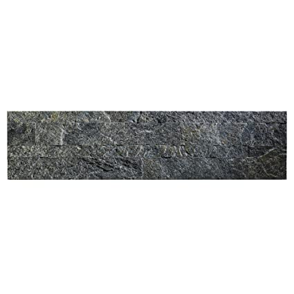 Amazoncom Aspect Peel And Stick Stone Overlay Kitchen Backsplash - Cost to tile 1500 sq ft