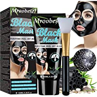 Blåmaskmask, avskalad mask, pormaskborttagningsmask, ansiktsmask med aktivt kol, renar svart ansiktsmask, djuprengörande…