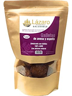 Lázaro - Galletas de Avena, Espelta y Chocolate, 200 g ...