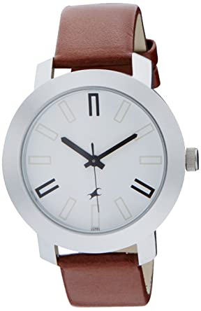 69940b1e4 Buy Fastrack Casual Analog White Dial Men s Watch -NK3120SL01 Online at Low  Prices in India - Amazon.in