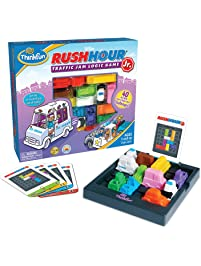 ThinkFun Rush Hour Junior Traffic Jam Logic Game and STEM Toy for Boys and Girls Age 5 and Up - Junior Version of the...