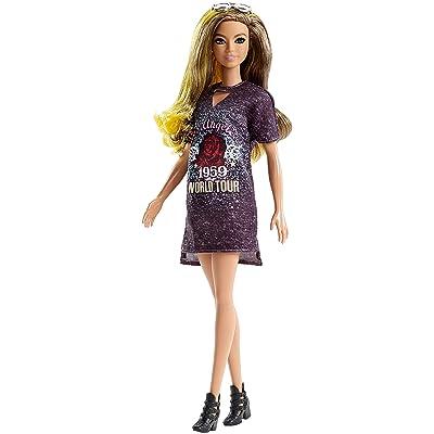 Barbie Fashionistas Rockstar Glam Doll: Toys & Games