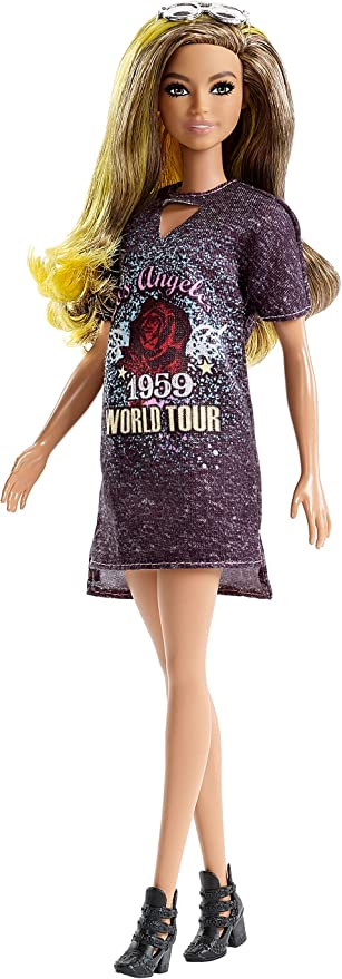 Barbie Fashionistas Doll #87 Rockstar Glam Doll