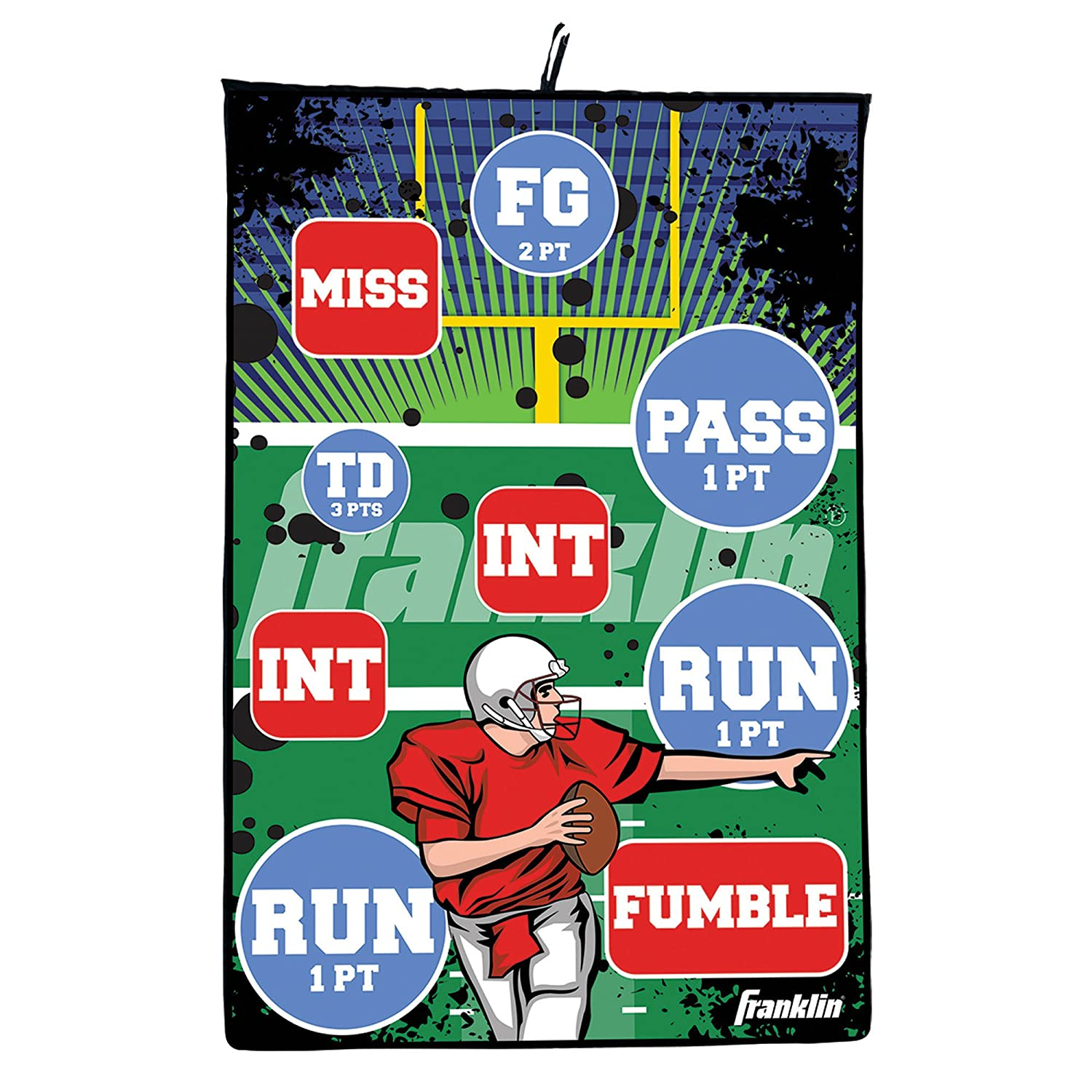 Amazon Franklin Sports Football Tar Indoor Pass Game 36