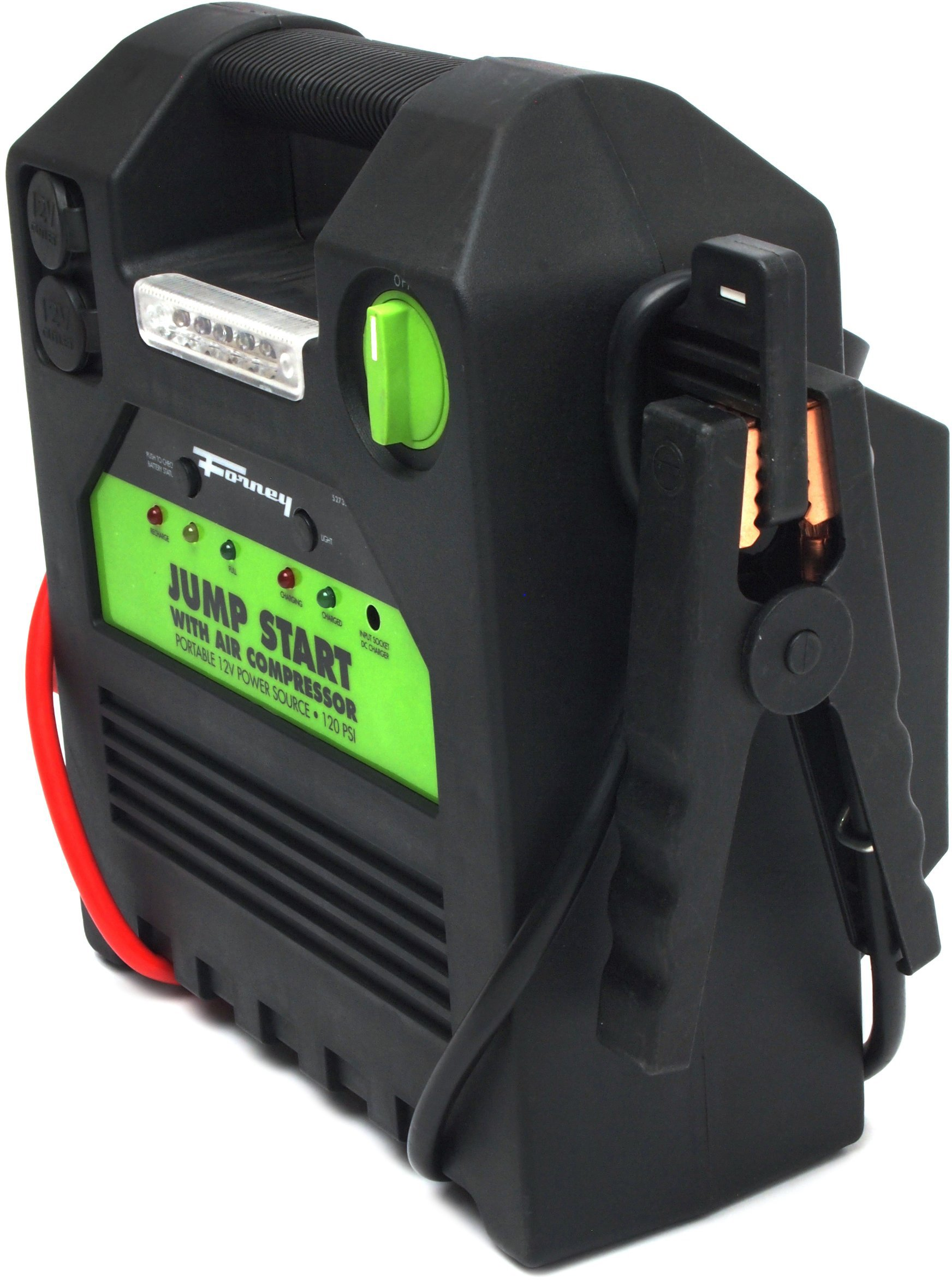 Forney 52732 Battery Booster Pack with 120 PSI Air Compressor, 18-Amp Hour, 12-Volt Jump Start by Forney (Image #11)