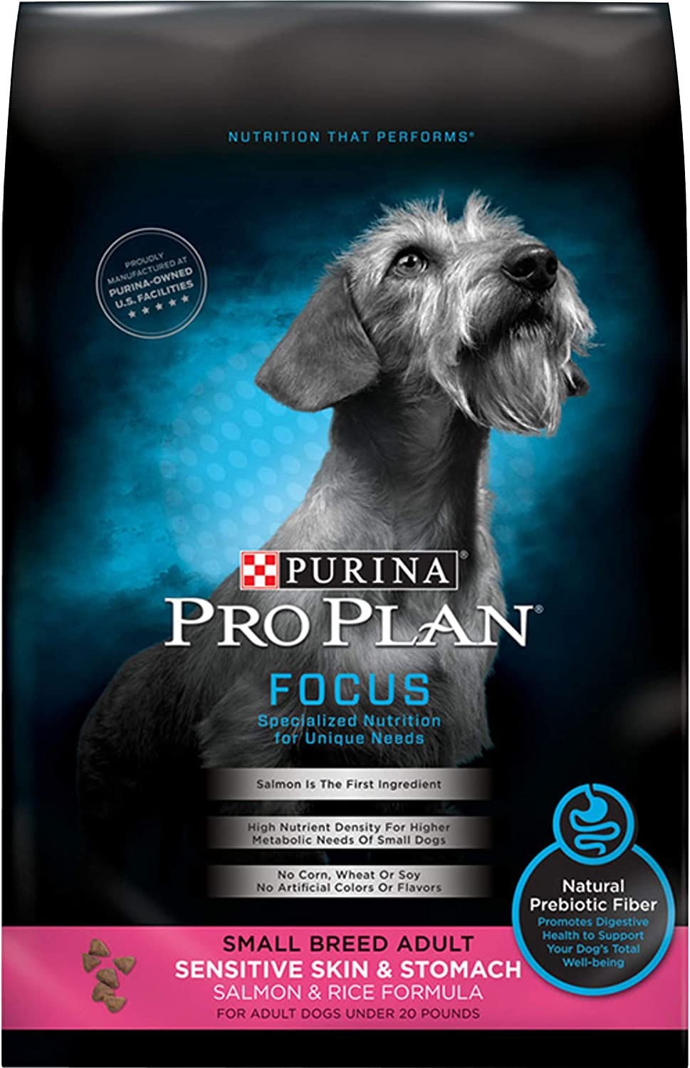 Purina Pro Plan Sensitive Skin & Stomach, High Protein Adult Dry Dog Food & Wet Dog Food