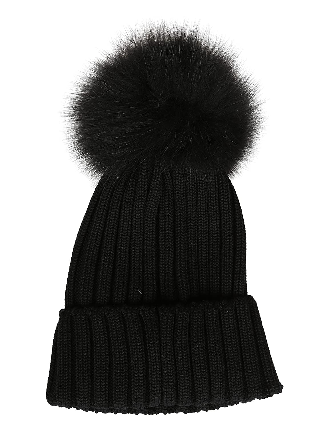 Moncler Women's 002190003510999 Black Wool Hat: Amazon.ca: Sports & Outdoors