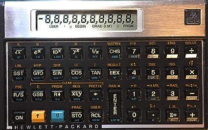 Hp 15c programmable scientific engineering calculator with new.