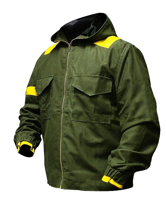Mens Twenty One 21 Cotton Pilots Hoodie Jumpsuit Jacket Green   Amazon.co.uk  Clothing 9edb2c079b9