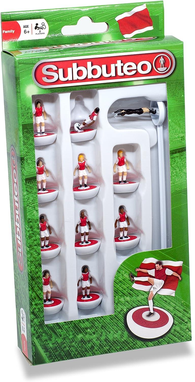 Subbuteo 3445 - Juego de Jugadores, Color Rojo y Blanco: Amazon.es: Juguetes y juegos