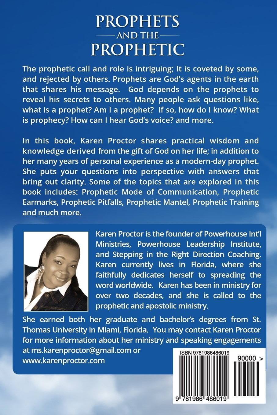 Prophets and the Prophetic: Fulfilling the Call: Karen