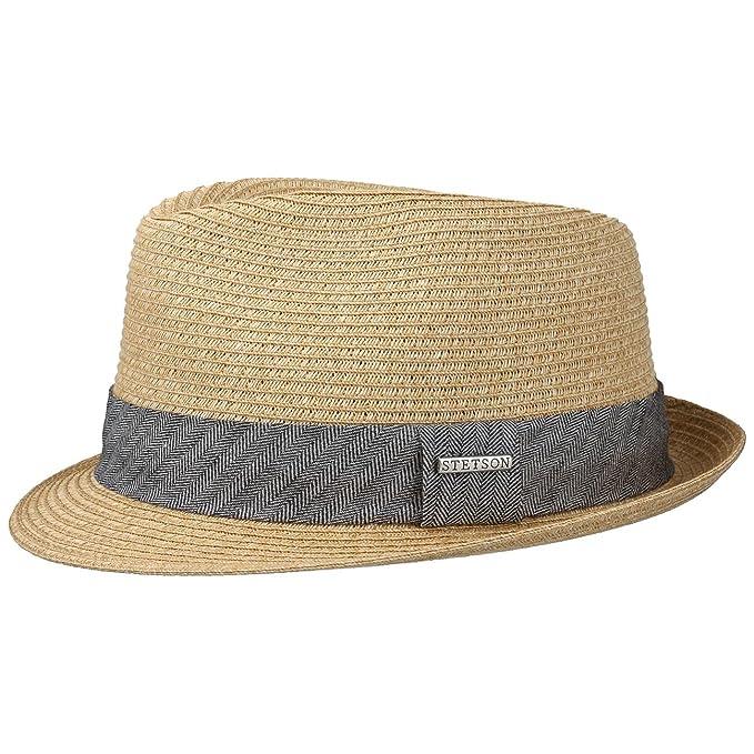 1ddc2a95686f5 Stetson Reidton Toyo - Sombrero Trilby para unisex adulto - marrón   Amazon.es  Ropa y accesorios