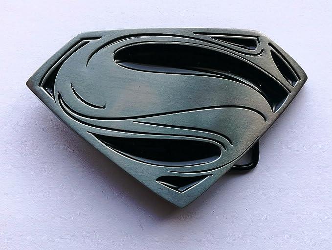 6622620265a6 Boucle de ceinture en métal de style vintage - Marvel Hero Superman  Amazon.fr   Auto et Moto