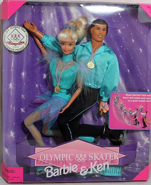 Amazon.es: Barbie & Ken Olympic Skater (1997): Juguetes y juegos