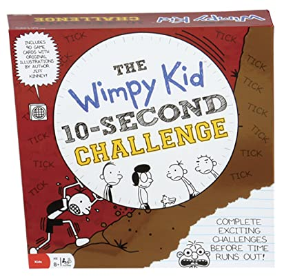 Amazon pressman toys diary of a wimpy kid 10 second challenge pressman toys diary of a wimpy kid 10 second challenge solutioingenieria Choice Image