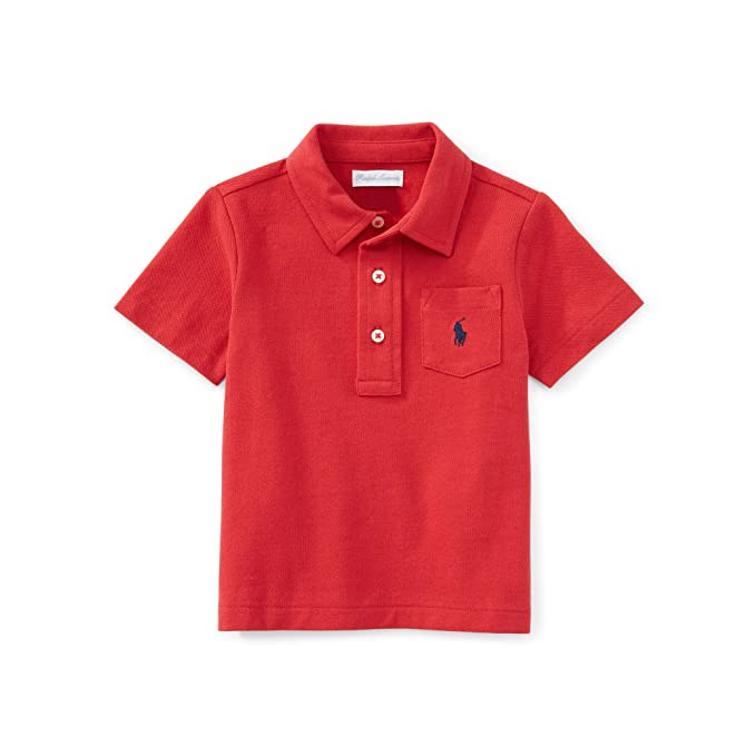 6eb8be488 Ralph Lauren - Polo - para bebé niño rojo rosso 9 mes  Amazon.es  Ropa y  accesorios