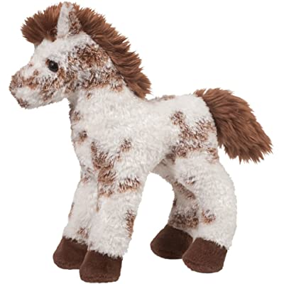 "Stoney Brown and White Appaloosa 9"" by Douglas Cuddle Toys: Toys & Games"