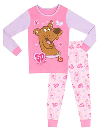 add6834660 Amazon.com  Scooby Doo Girls Pajamas Size 10  Clothing
