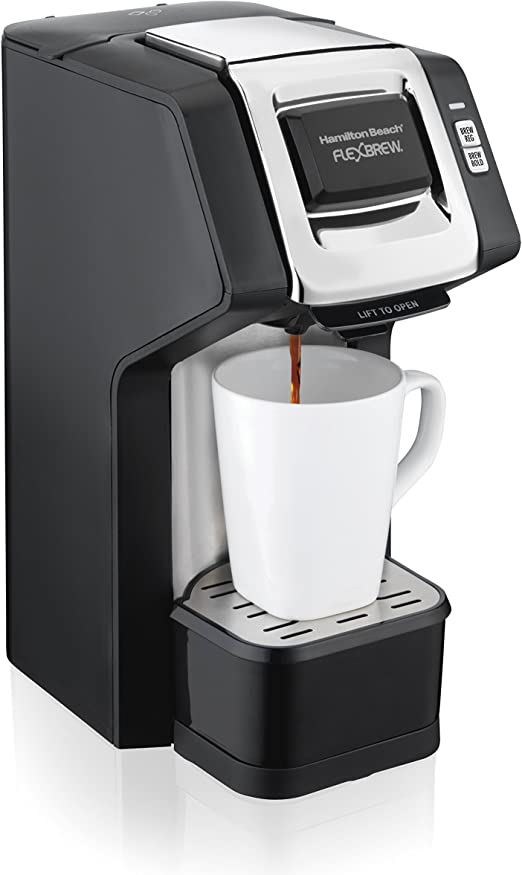 Amazon.com: Cafetera Hamilton Beach FlexBrew de una taza ...