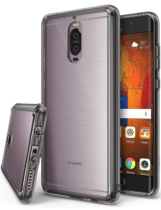 2 opinioni per Custodia Huawei Mate 9 Pro, Ringke [FUSION] Retro PC Trasparente Respingente in