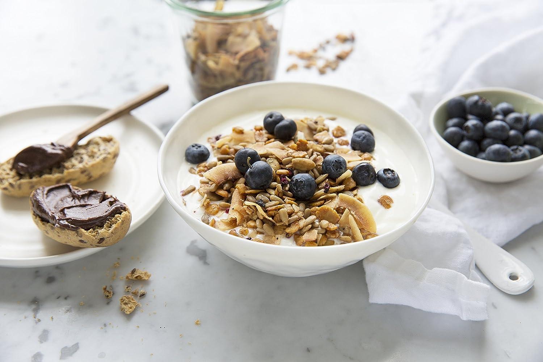 Muesli low carb di CarbZone | Muesli di cereali al cocco e fragola | Snack senza glutine e bio - 500 g: Amazon.es: Alimentación y bebidas