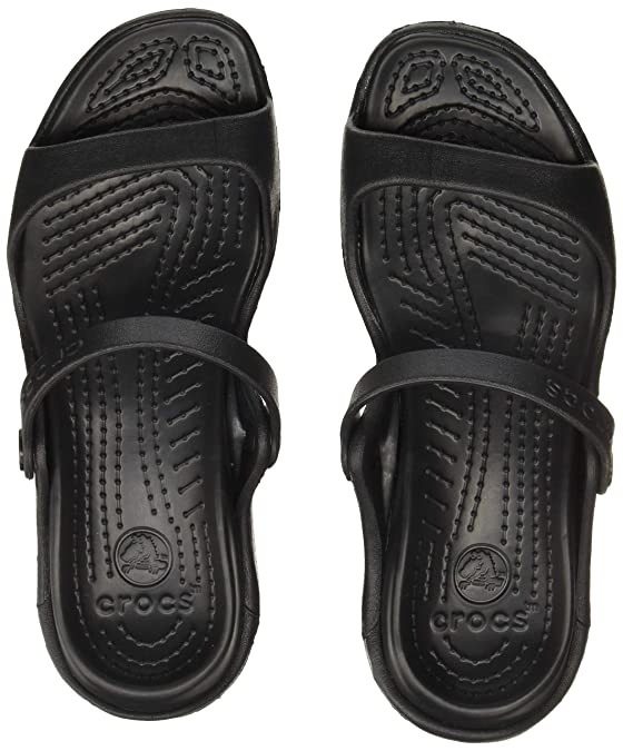crocs Women's Cleo Fashion Sandals Women's Fashion Slippers at amazon