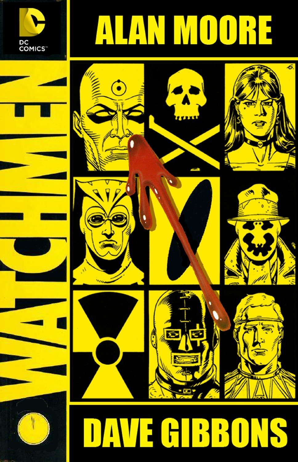 Image result for watchmen alan moore hardback