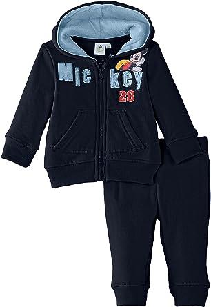 Disney Mickey Mouse Chándal, Azul, 12 Meses (80) para Niños ...
