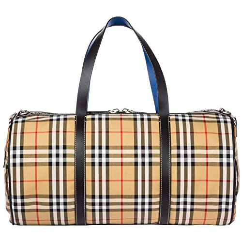 6fb83ca5f7b Burberry men Kennedy duffle bag canvas blue  Amazon.co.uk  Shoes   Bags