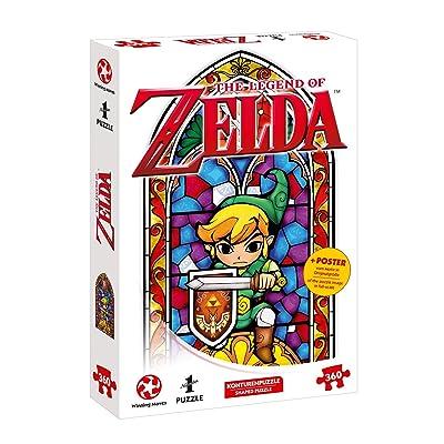 A Ins Puzzle de Aventura con The Legend of Zelda - The Wind Waker The Hero of Hyrule (360 Piezas, Incluye póster de la Escena En tamaño Original): Juguetes y juegos