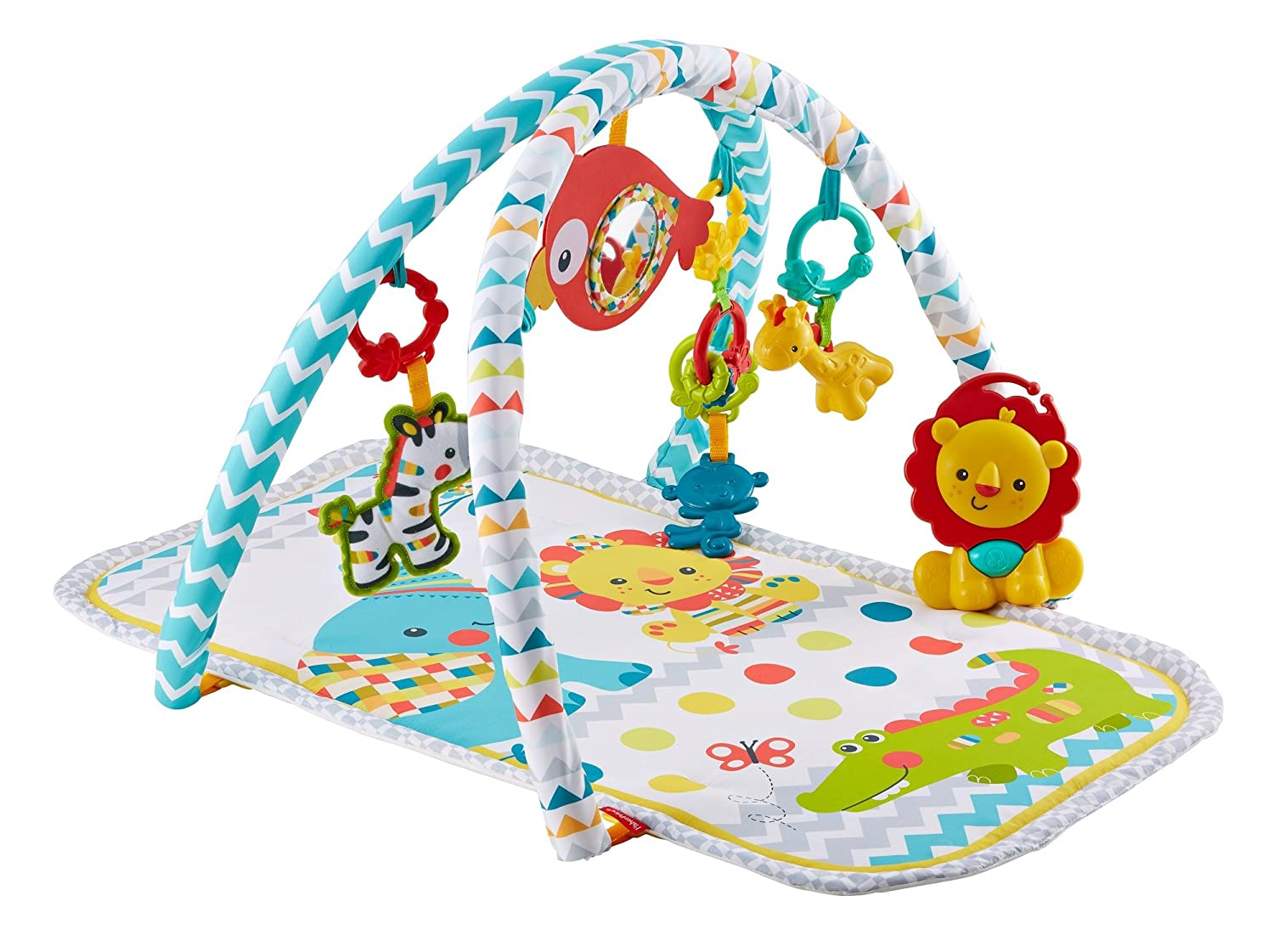 Fisher-Price Original Colourful Carnival 3-in-1 Musical Activity Gym