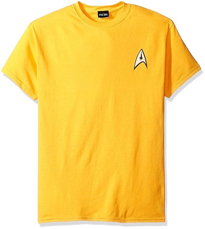 Amazon Star Trek Command Uniform T Shirt Movie And Tv Fan T