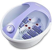 Suntec Wellness Fma-8663 Comfort Pro Baño De Burbujas Para Los Pies, Blanco