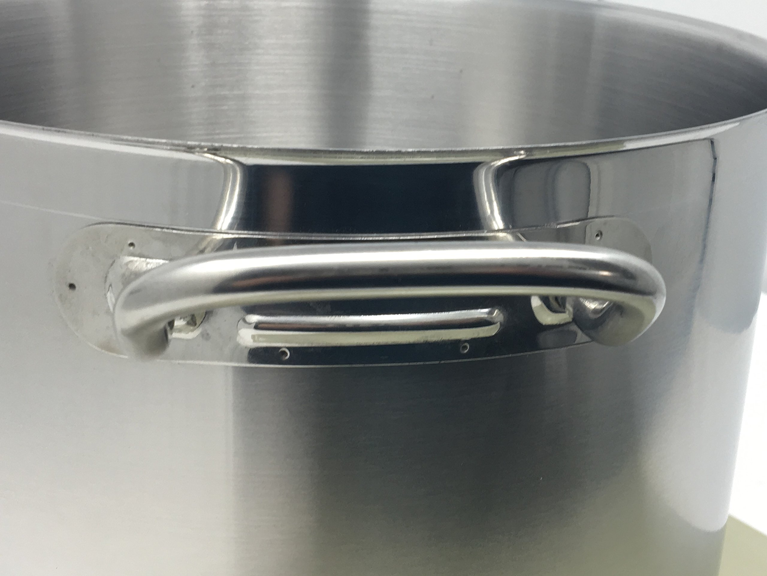 Update International (SPS-40) 40 Qt Induction Ready Stainless Steel Stock Pot w/Cover by Update International (Image #2)