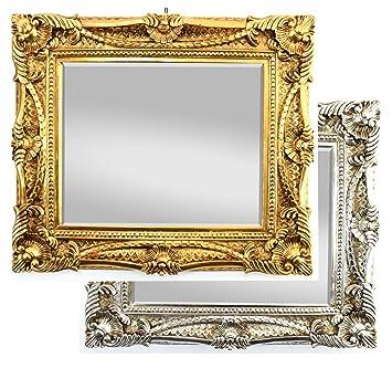 Wandspiegel Antik Barock Spiegel Gold 60x70cm Mit Facettenschliff