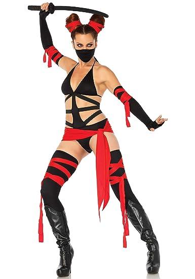 Amazon.com: Leg Avenue Killer Ninja Costume: Clothing