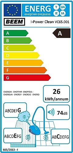 2 in1 Hand /& Stielstaubsauger mit Beutellose Zyklon BEEM Germany i-Power Clean
