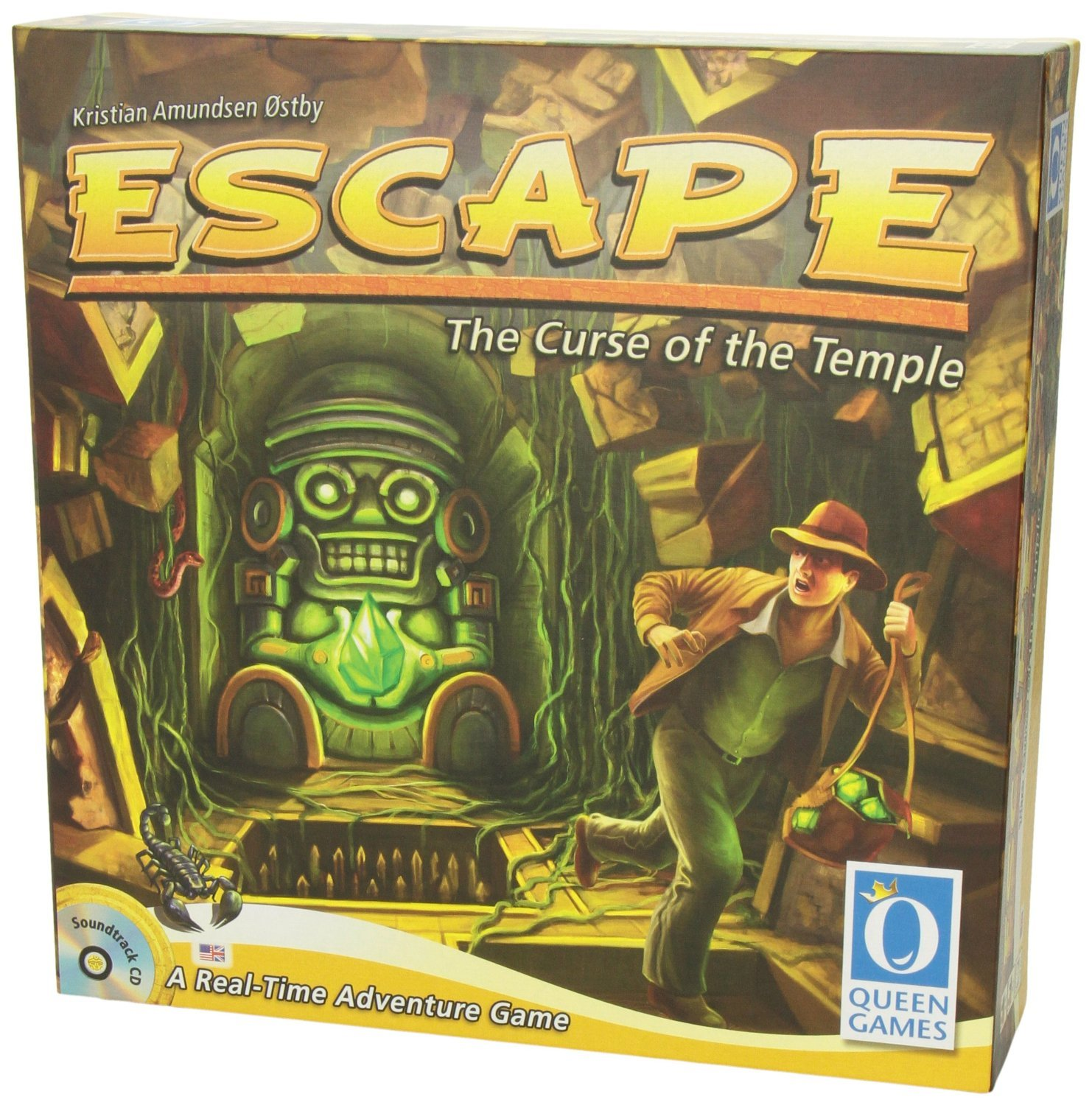 Queen Games 60903 - Escape: The Curse of the Temple