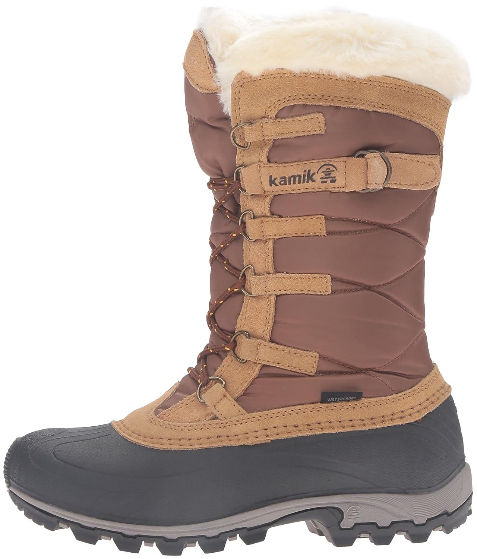 Kamik Women's B01M13DZXQ Snowvalley Boot B01M13DZXQ Women's 9.5 B(M) US|Tan 3707a1