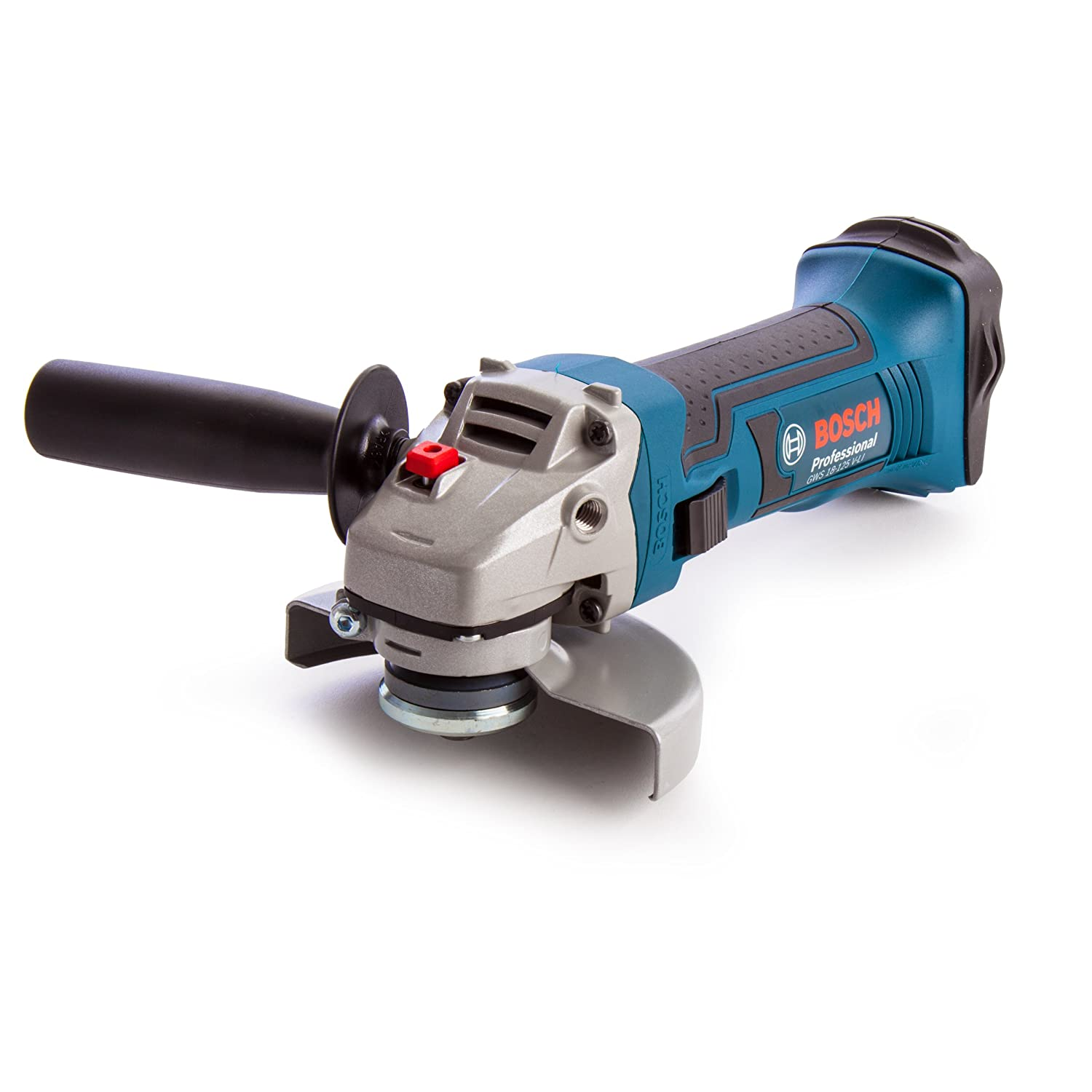 Bosch Professional GWS 18-125 V-LI Cordless Angle Grinder (Without Battery and Charger) - L-Boxx GWS18125VLiN