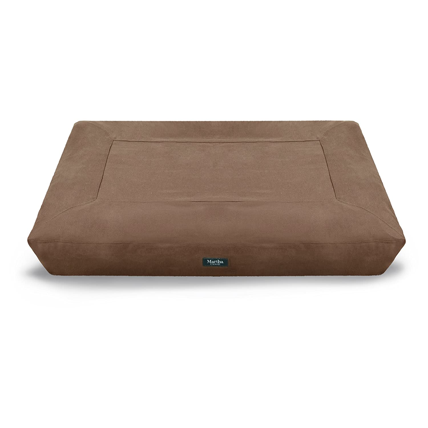 Martha Stewart Brushed Canvas Mattress Pet Bed