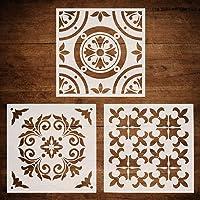 CODOHI 3 paquetes de plantillas de azulejos