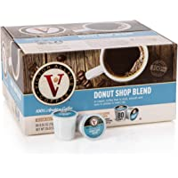 Victor Allen's Coffee K Cups Donut Shop Blend Single Serve Medium Roast Coffee Pod, 80 Count, Keurig 2.0 Brewer Compatible