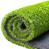 Artificial Grass Fake Grass Turf Lawn 3.3 X 5 FT (16.5 Square FT), Ohuhu CPSIA Certified Realistic Synthetic Garden Turf…