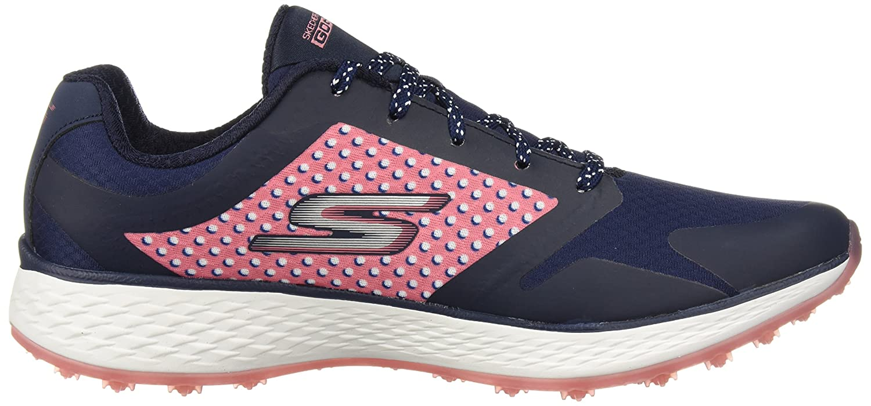 Skechers Women's Go Eagle Major Golf Shoe B074VL92J2 6 M US|Navy/Pink
